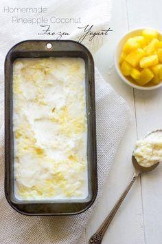 27 Recetas de yogurt helado que te harán serle infiel al helado