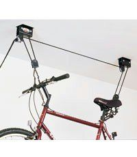 Gear Up Up & Away Deluxe Hoist System w/ Accessory Straps (120lb capacity) by GearUp. $54.50. Heavy Duty 100lb capacity. Weighs 7 lbs. Heavy-duty adjustable web belly straps included. The 2 rope system provides easy lifting and control. No further description available. However, if you have any questions or concerns, please feel free to contact us. We will respond within 24 hours or less... Save 26%!