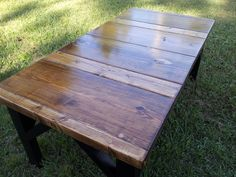 Coffee Table Multi Board Top by NPWOOD on Etsy, $200.00