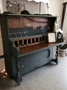 Converted piano