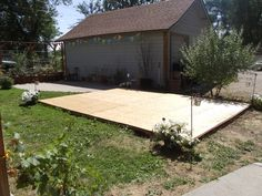 Building this for our fundraiser !! Creating a dance floor out of pallets and plywood.