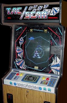 Tac/Scan Arcade Game
