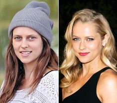 Teresa Palmer - LEFT: newly pregnant, on way for checkup at Santa Monica Medical Center in Santa Monica, Calif. 2013 - RIGHT: at the DIESEL + EDUN Studio Africa Event on April 2013 in La Quinta, California Teresa Palmer, Celebrity Makeup, Celebrity Dads, Celebrity Look, Cellulite, Makeup Photoshop, Newly Pregnant, Celebs Without Makeup, Bikini Wax