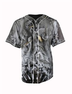 Gods Gray Button ... http://www.jakkoutthebxx.com/products/real-american-size-gods-3d-sublimation-print-custom-made-gray-button-up-baseball-jersey-plus-size?utm_campaign=social_autopilot&utm_source=pin&utm_medium=pin  #wanelo #shoppingtime #whattobuy #onlineshopping #trending #shoppingonline #onlineshopping #new