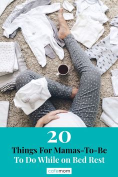 20 Things For Mamas-To-Be To Do While on Bed Rest: Bed rest doesn't have to be terrible for mamas-to-be. Here are some ways to keep busy, and safe. Parenting Quotes, Parenting Hacks, Kids Stage, High Risk Pregnancy, Pregnancy Problems, Bed Rest, Baby E, Stay In Bed, Third Trimester