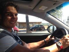 Rafael Nadal goes home to have rest for few days finally