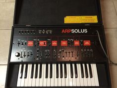 MATRIXSYNTH: ARP SOLUS Vintage Analog Synthesizer