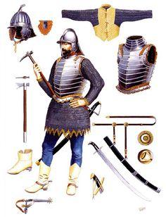 """Hussar towarzysz, 1590s""   Velimir Vuksic"