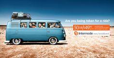 EVERYWHERE MAN: Internode ads lure BigPond customers