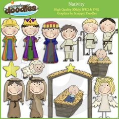 Nativity Clip Art Download