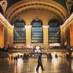 Grand Central Station...so beautiful!