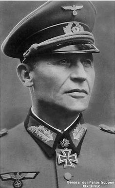 Friedrich Kirchner 1885-1960, commander of 57th Panzer Corps, 4th Panzer Army.