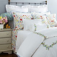 Ralph Lauren Georgica Garden Collection Home - Bloomingdale's King Size Comforter Sets, King Size Comforters, King Comforter, Queen Duvet, Floral Comforter, Duvet Bedding, Ralph Lauren, Pottery Barn, Colorful Couch