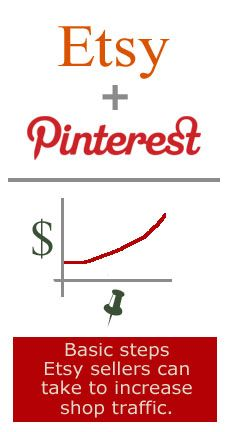 Pinterest Tips to Increase Etsy and Creative/Craft Online Shop and Website Traffic