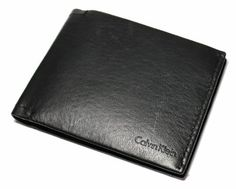 New Calvin Klein Men's Black Leather Passcase Billfold Wallet W/key Fob Set 79410 Calvin Klein. $29.99