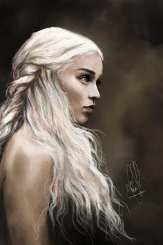 Daenerys Targaryen by Szilvia Huszár