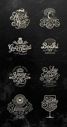 Logos by Jared Jacob of Sunday Lounge