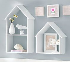 Birdhouse Cubbies...This could actually be a DIY project!