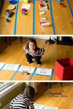 figury geometryczne dla maluchów