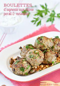 Des boulettes de viande d'agneau, associées à des olives Taggiasche, des noisettes du Piémont, un peu de persil et de thym… Le mariage parfait ! On a a-do-ré ! ❤️