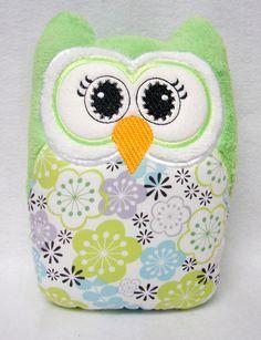owl pillow :)