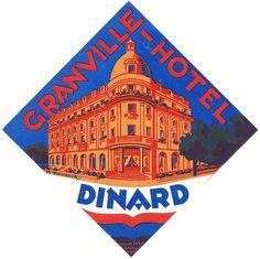 Granville Hotel Dinard ~ France.