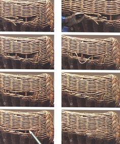 How to repair Vintage Lloyd loom furniture