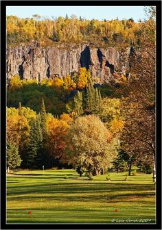 View Of Mount McKay, From Fort William Country Club, Thunder Bay Beautiful World, Beautiful Places, Fort William, Old Fort, Lake Superior, Great Lakes, Canada Travel, Where To Go, Thunder