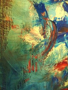 Modern Abstract Canvas Painting Original by SOMETHINGdebussy, $3859.00