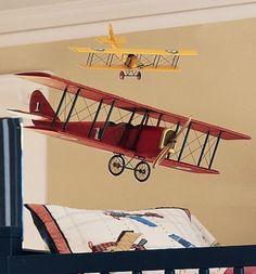 Decor quartinho de bebê aviões 4