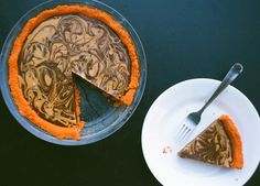 Chocolate Peanut Butter Pie with Nabs Crust | Nothing in the House