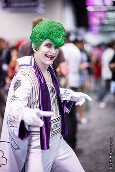Creative Cosplay: Elvis Joker at WonderCon by The.Erik.Estrada, via Flickr