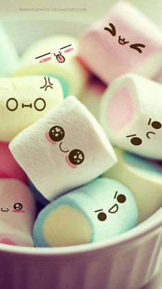 ..... my girls absolutely loves this cute marshmallows