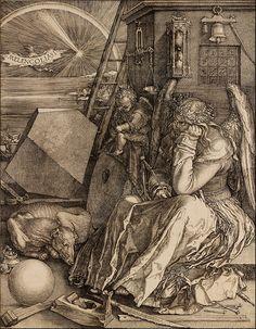 Albrecht Dürer 'Melencolia I' (1514) Engraving