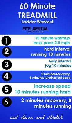60 minute ladder workout