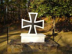 German/ Italian cemetery at Ft. McClellan Alabama.