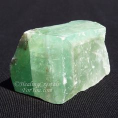 Green Calcite resonates within the higher heart chakra to boost compassion & forgiveness, and may help the release of anger & resentment. It is known to assist the memory, help with change and is a highly beneficial healing crystal. Crystals Minerals, Rocks And Minerals, Crystals And Gemstones, Stones And Crystals, Gem Stones, Healing Crystals For You, Meditation Crystals, Crystal Healing Stones, Green Calcite Meaning