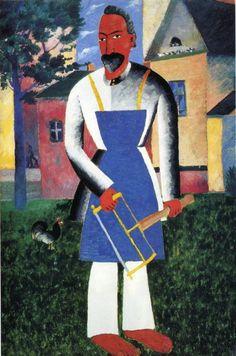1927 - On Vacation Neo-Suprematism & Cubism Lascaux, Kazimir Malevich, Russian Avant Garde, Avant Garde Artists, Art Moderne, Hand Painting Art, Art Abstrait, Russian Art, Artist Art