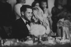 Elegant Pink and Gold Wedding in Nebraska | Photo by Gleason Photography