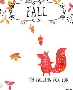 Fall, i'm falling for you. Laat je inspireren door de spreuk van de week uit Flair 44.