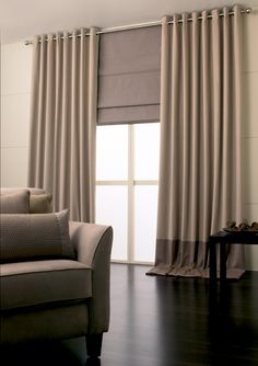 what is in style for curtians | Change Display Home With Creative Curtains