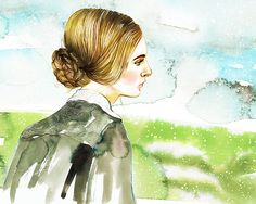 After illustrating 50 of the most beloved heroines in literature for my book Well-Read Women I thought I'd painted my last heroine. Nevertheless, Verily Magazine hit me up to illustrate Jane …