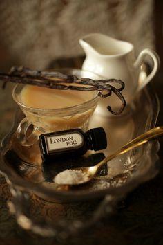London Fog natural perfume oil with vanilla, bergamot, earl grey black tea, honey by ForStrangeWomen $48