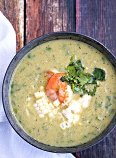 Shrimp And Corn Soup on Pinterest | Cooked Sushi Recipes, Shrimp Soup ...