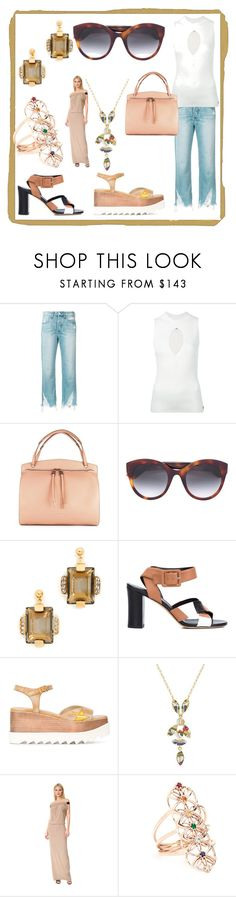 """""""Set for alert"""" by denisee-denisee ❤ liked on Polyvore featuring 3x1, Twin-Set, Jil Sander, Gucci, Marni, Derek Lam, STELLA McCARTNEY, Isabel Marant, Zero + Maria Cornejo and Jacquie Aiche"""