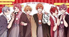 Happynewyear Angel Of Death, My Idol, Anime Art, Kawaii, Fan Art, Cute, Anime Boys, Strawberry, Prince