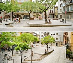 Banyoles Old Town Remodeling Celebrates Historical Roots