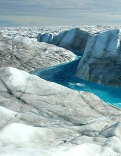 Using Landsat satellite images, researchers see the movement of the southwest portion of the Greenland Ice Sheet that terminates on land slowing down