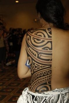 Samoan tattoo - woman addiction-2