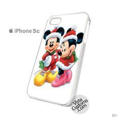 Christmas Mickey And Minnie Phone Case For Apple, iphone 4, 4S, 5, 5S, 5C, 6, 6 +, iPod, 4 / 5, iPad 3 / 4 / 5, Samsung, Galaxy, S3, S4, S5, S6, Note, HTC, HTC One, HTC One X, BlackBerry, Z10
